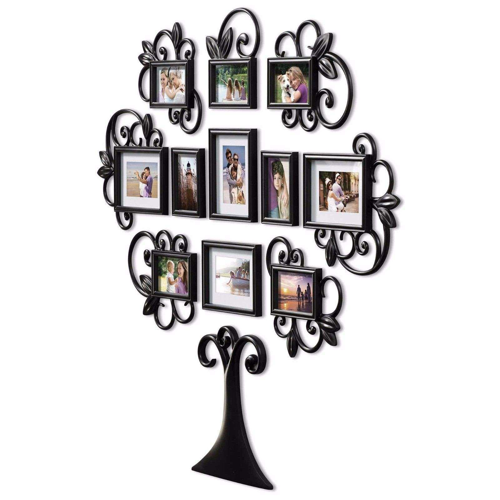 Chic College Wall Art Decals Hallway Family Tree Collage