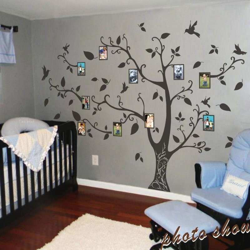 Family Tree Wall Art Unique Geckoo Wall Decor Frame Family Tree Wall Decals