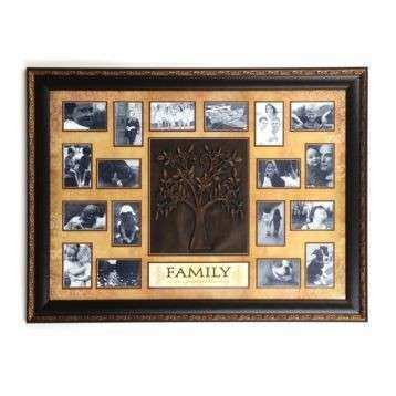 Tan Family Tree Collage Frame Things for My Wall