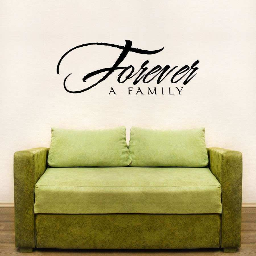 Family Wall Art Awesome forever A Family Wall Art Decals | Wall Art ...
