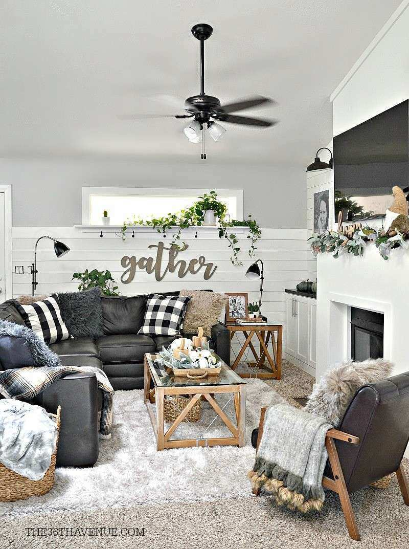 Farmhouse Living Room Wall Decor Lovely Living Room Farmhouse Decor Ideas the 36th Avenue