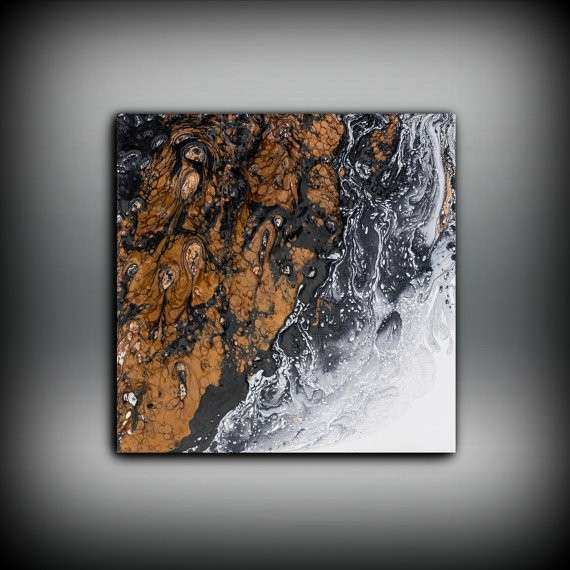 Giclee Abstract Fine Art Print from Original Oil Abstract
