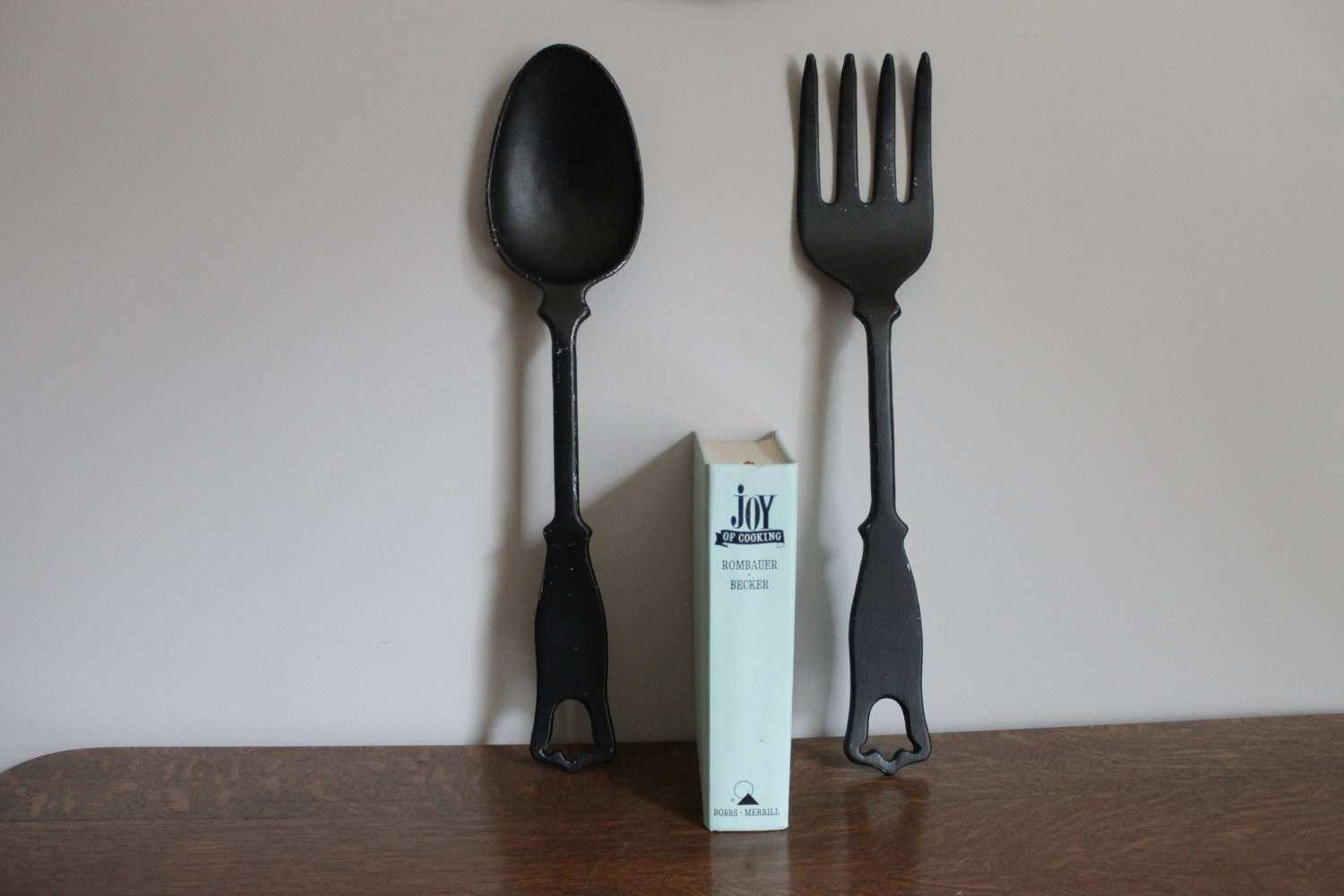 Fork and Spoon Wall Decor Ideas