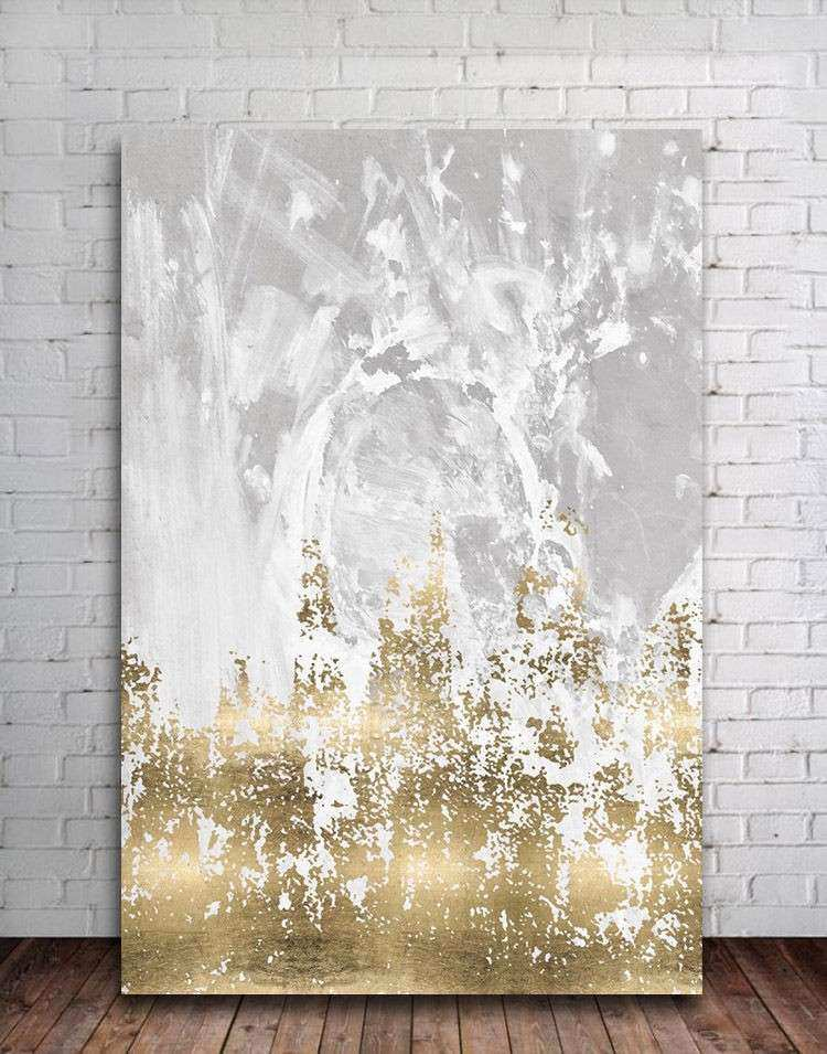 Abstract Stretched Canvas Print Framed Wall Art Home Decor