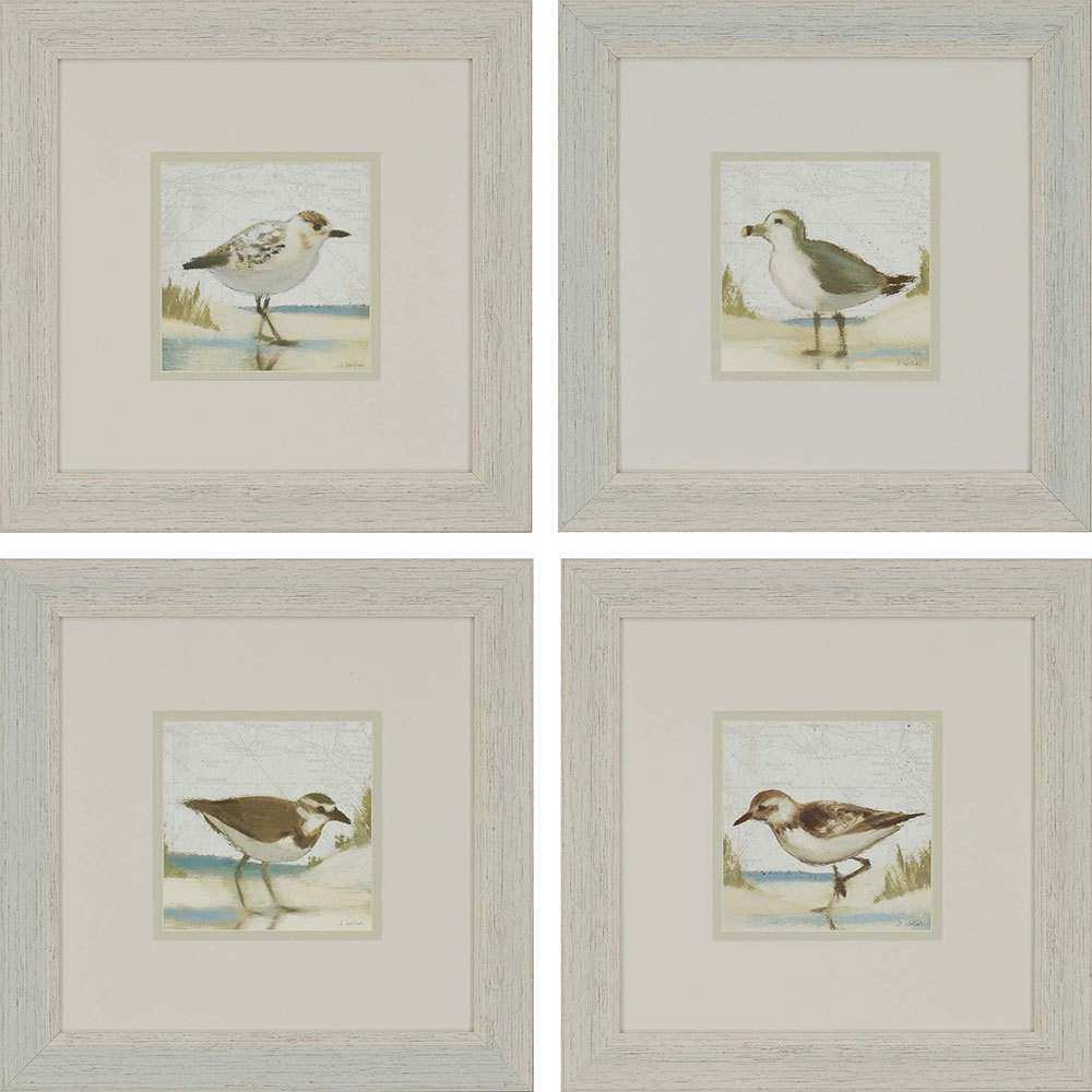 Paragon Beach Birds Framed Wall Art 1395