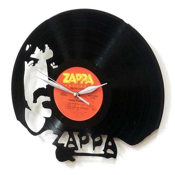 Frank Zappa Wall Art Vinyl LP Record Clock or Framed