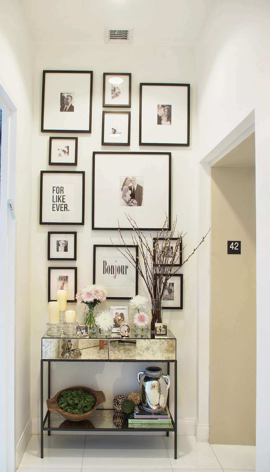 Typical Domestic Babe Spring Entryway Decor