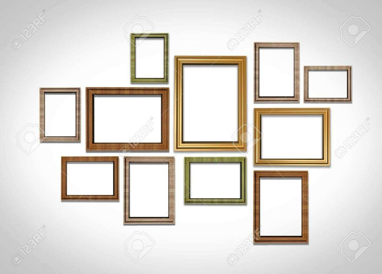 Wall Collage Picture Frames Ideas