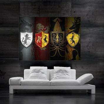 Best Game Thrones Wall Art Products on Wanelo