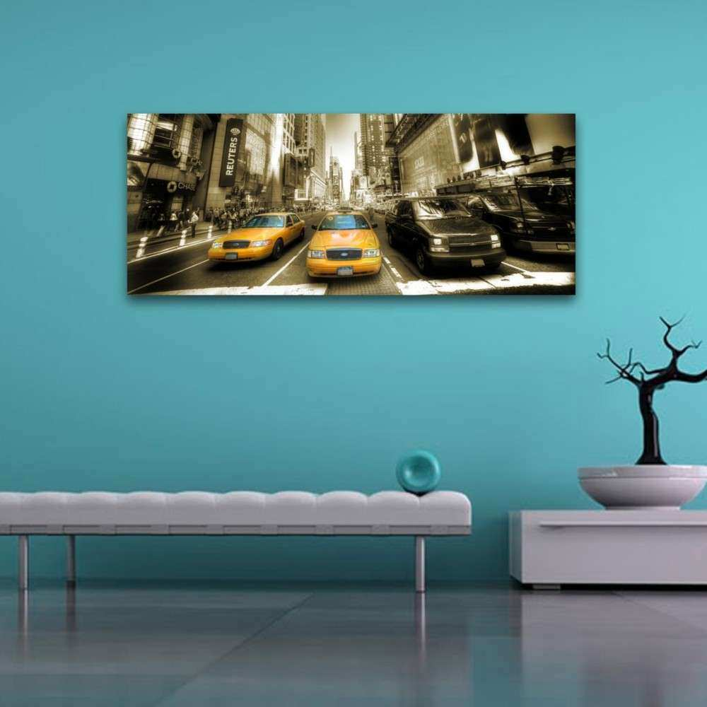 Wall Art Teal Colour Takuice