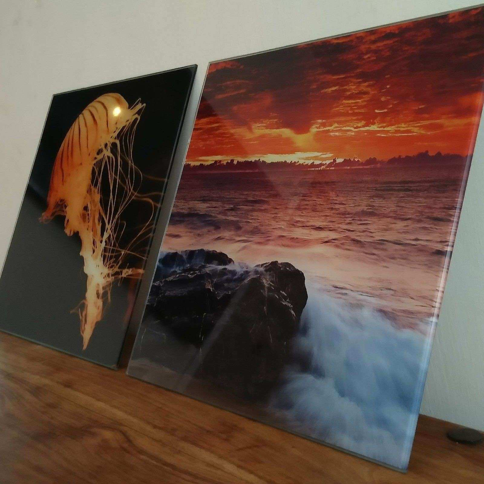 ANY SIZE Wall Art Toughen Glass Print and similar items