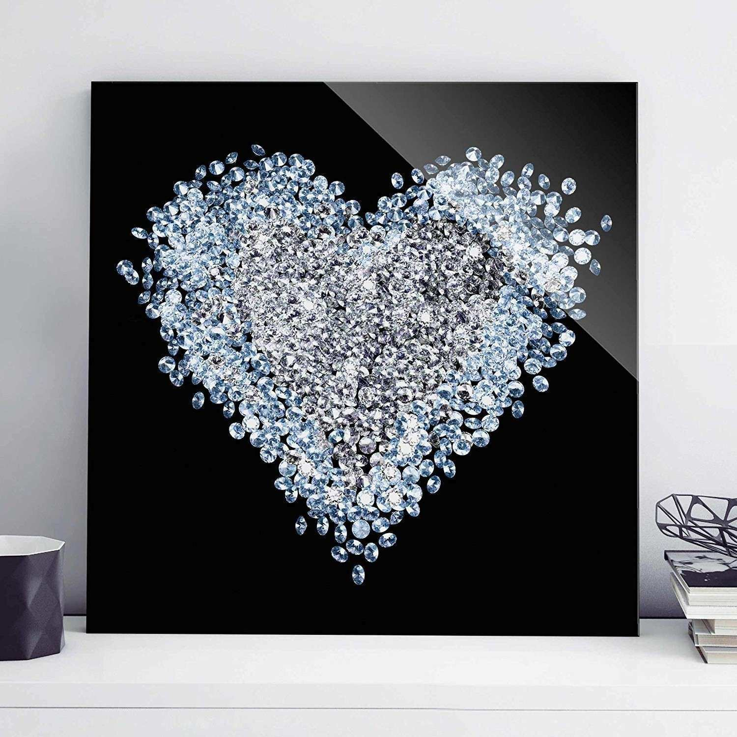 View Gallery of Glitter Canvas Wall Art Showing 5 of 15 s