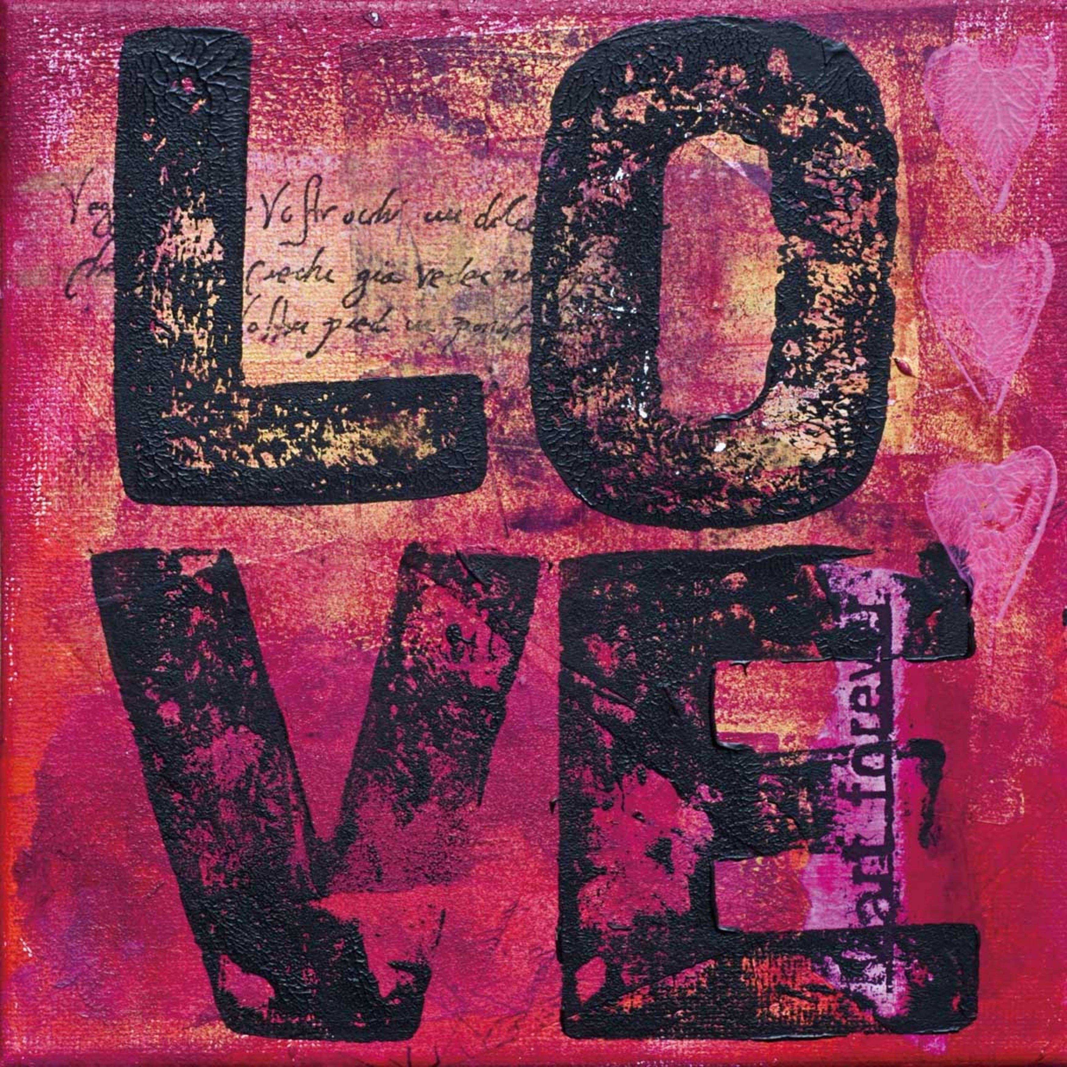 Cortesi Home All You Need is Love Tempered Wall Art