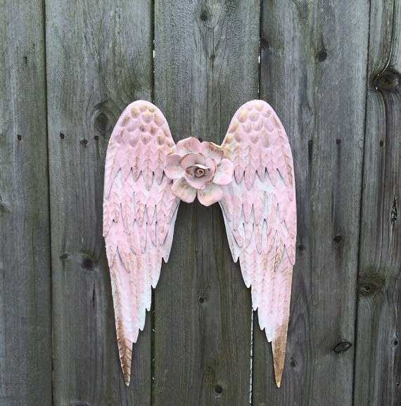 Gold Angel Wings Wall Decor New Decorative Antique Gold Angel Wings ...