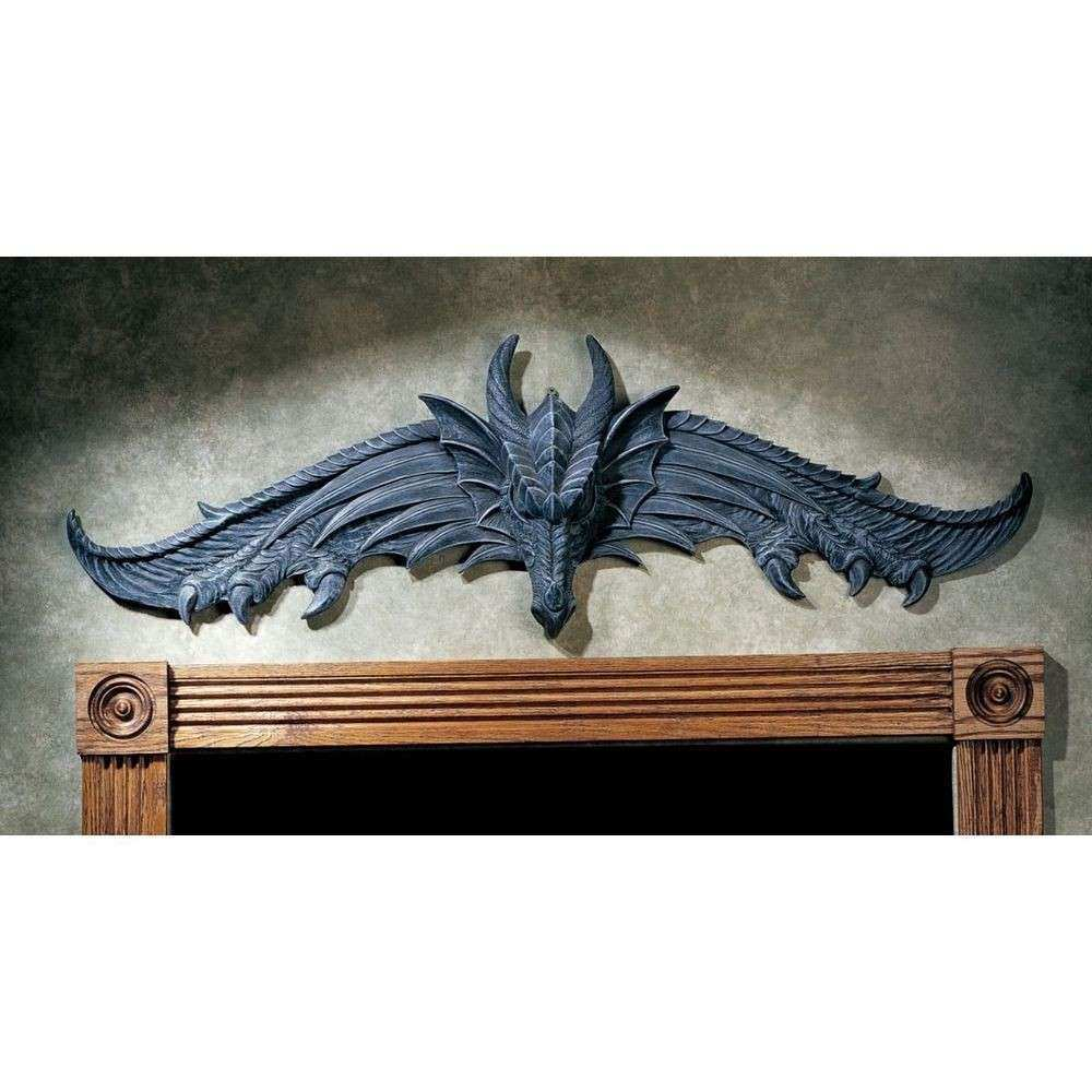 Dragon Wing Claw Statue Wall Hanging Art Sculpture