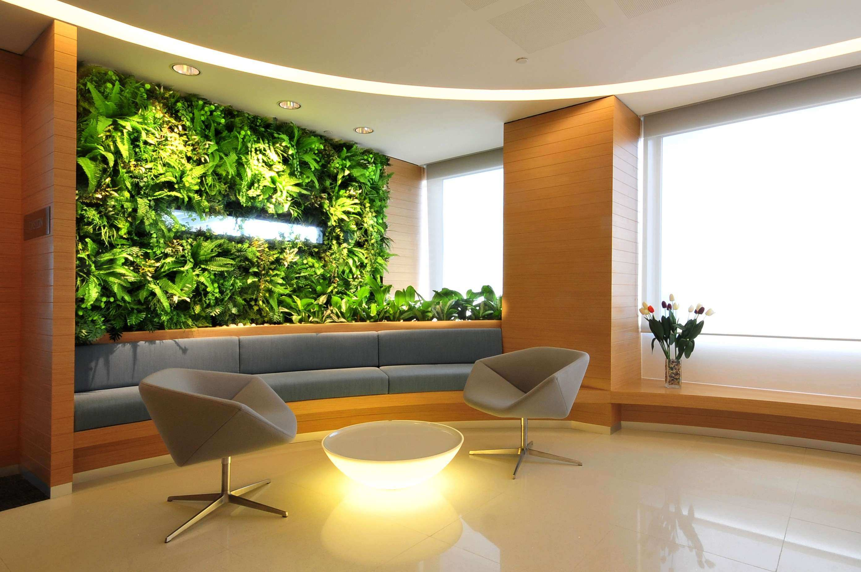 Living Green Walls The Wallpaper Future Is Alive