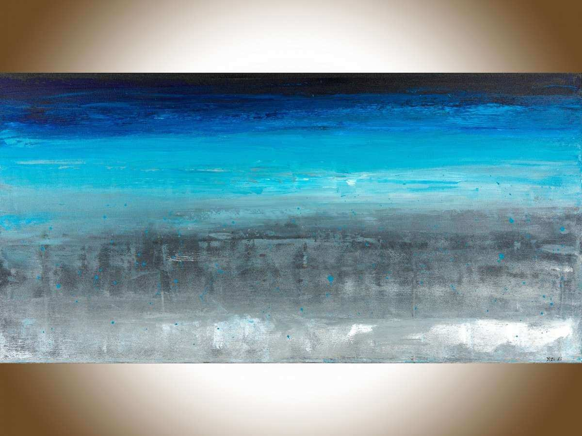 """The Approaching Storm by QIQIGallery 48"""" x 24"""" Extra"""
