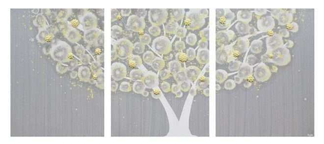 Grey and Yellow Wall Art Unique Best 20 Of Gray and Yellow Wall Art