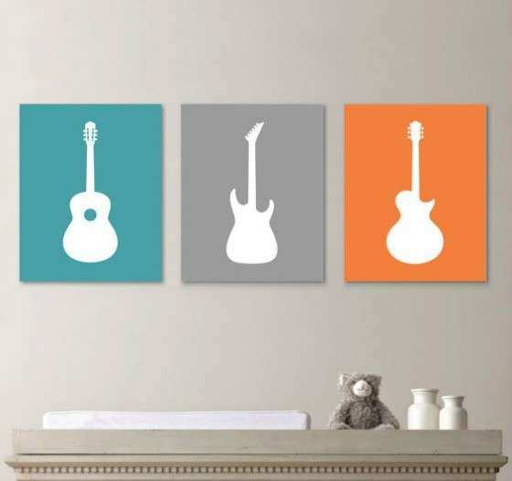 Wall Art Designs Guitar Wall Art Nursery Guitar Wall Art