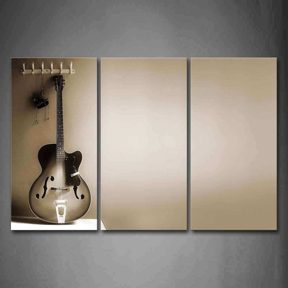 20 Inspirations of Guitar Canvas Wall Art