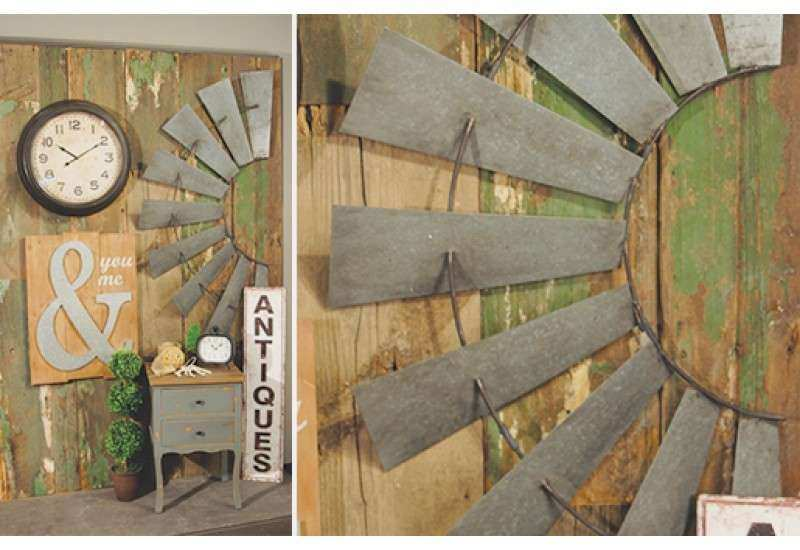 Half Windmill Wall Decor for sale Decorative Windmill
