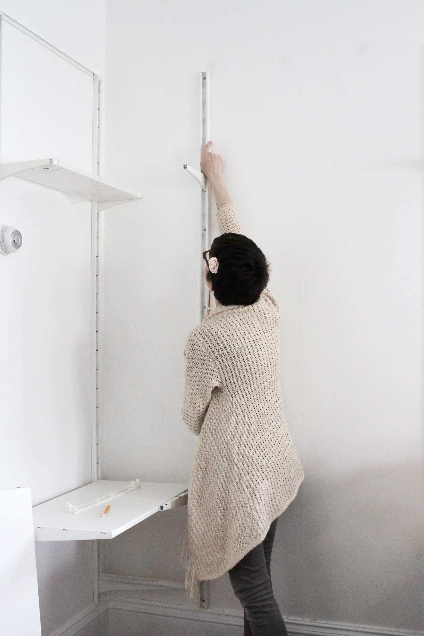 To Hang Heavy Shelves on Horsehair Plaster Walls Idle Hands Awake