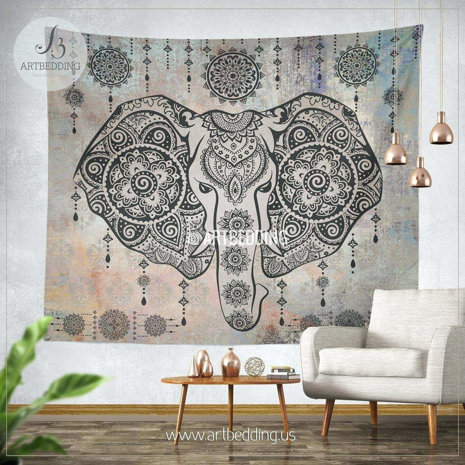How To Hang Tapestry Esy Wll Wall Plaster Walls Without Nails