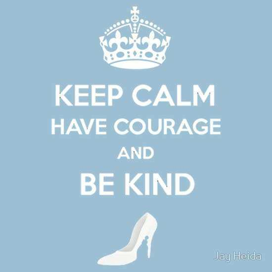 """Keep Calm Have Courage Be Kind"" T Shirts & Hoo s by Jay"