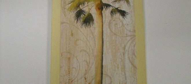 Hawaiian Wall Decor Fresh Palm Tree Tropical Wooden Wall Art Sign Wood Beach Decor