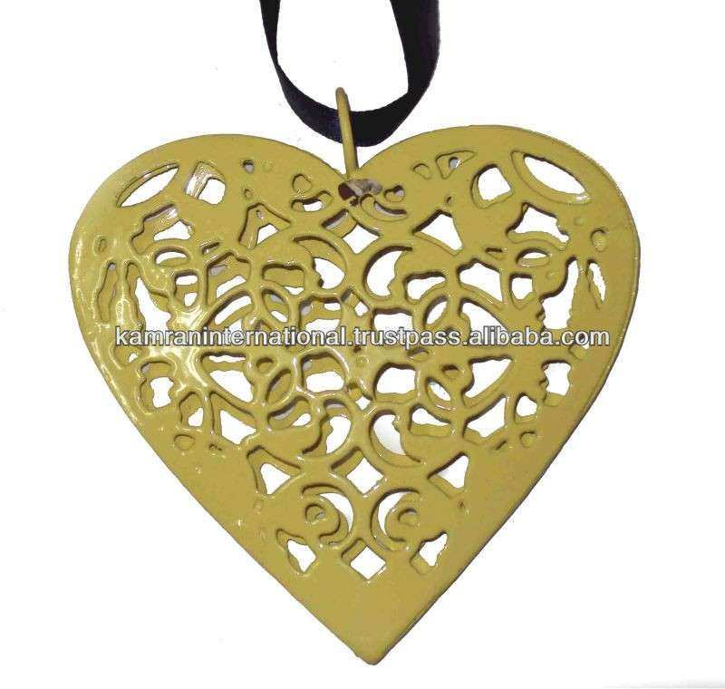 Heart Shaped Metal Wall Art Lovely Metal Heart Decorations Images ...