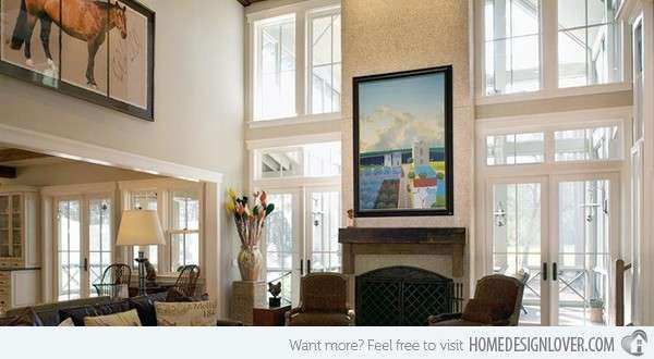 How to Decorate an Interior with High Ceilings