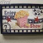 Beautiful Home theater Wall Decor Plaques Signs
