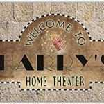 Home Theater Wall Decor Plaques Signs New Amazon Scph1 0071 Harry S Home Theater Cinema Of Home Theater Wall Decor Plaques Signs