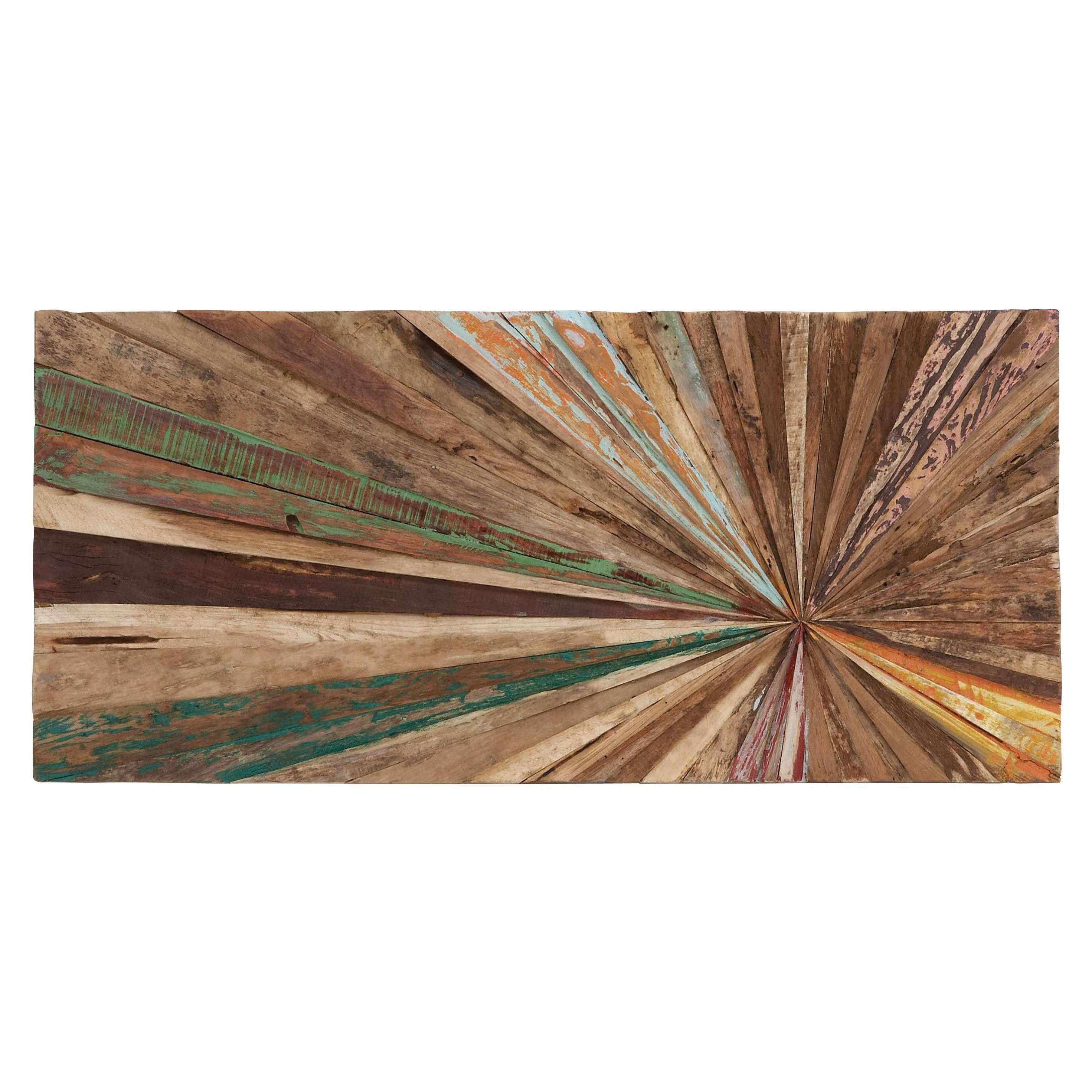 Loon Peak Wood Abstract Wall Décor & Reviews