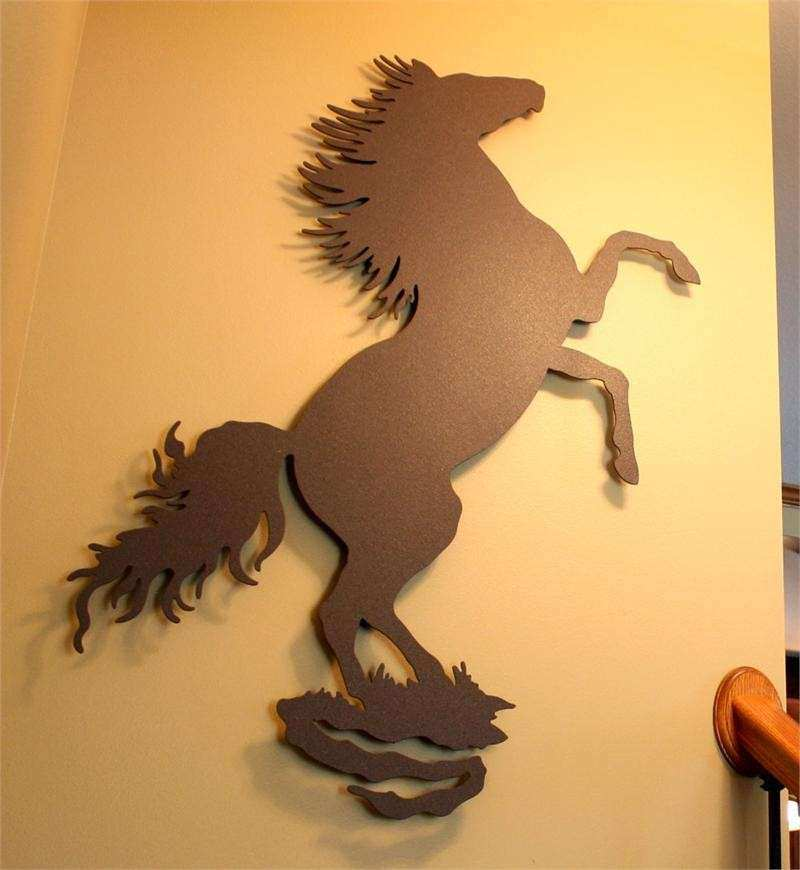 Enchanting Metal Wall Art Horses Pictures - Art & Wall Decor ...