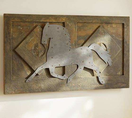 Horse Wall Art Pottery Barn For the Home