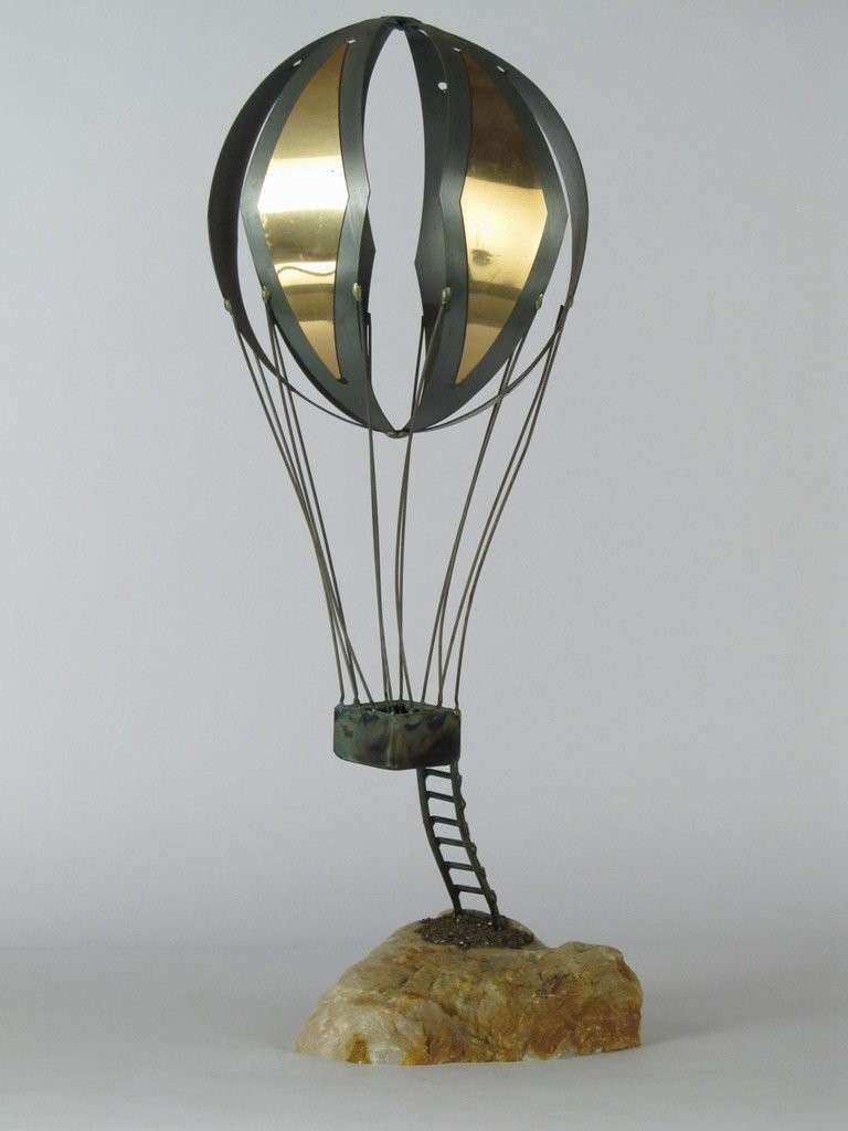 C Jere Hot Air Balloon Table Sculpture at 1stdibs