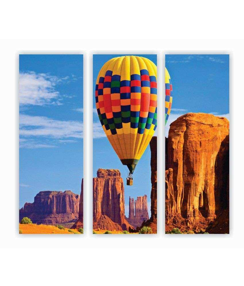 Zeeshaan Hot Air Balloon Wall Art Painting Buy Zeeshaan