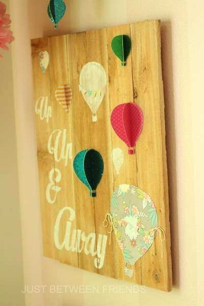 Hot Air Balloon Wall Decor Beautiful Hot Air Balloon Wall Art Just ...