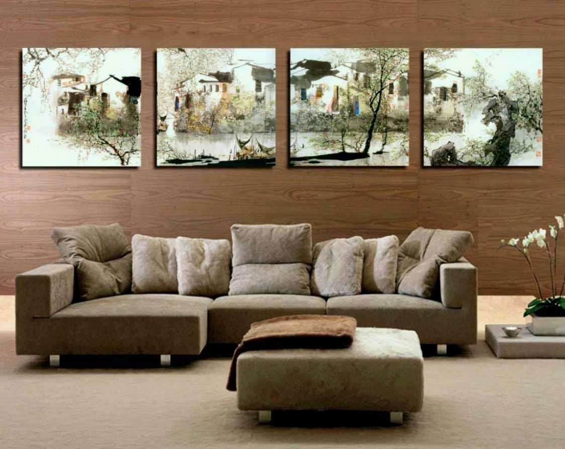 Awesome How to Decorate A Large Tall Living Room Wall | Wall Art Ideas