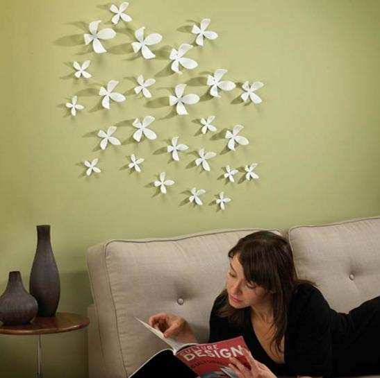 How to Decorate A Living Room Wall Awesome How to Decorate Your Room ...