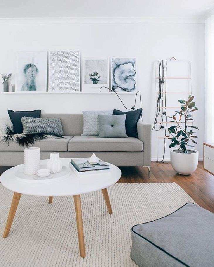 What Color Rug Goes With A Grey Couch Buethe