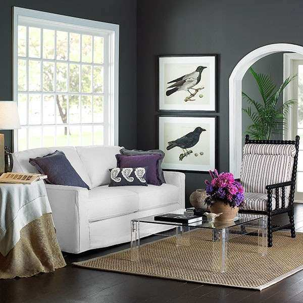 Gray color in decorating your rooms