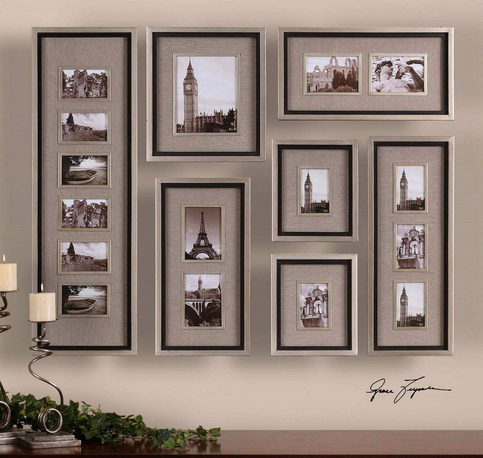 Wall Frame Collage Ideas • Walls Ideas