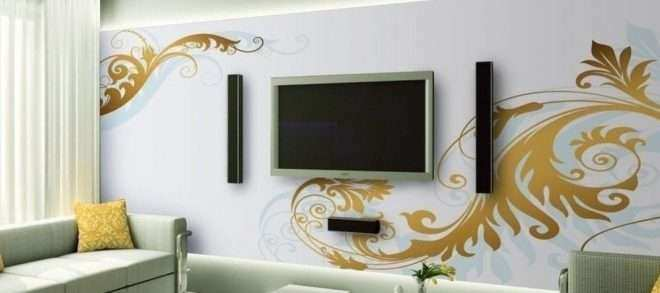 How to Decorate Large Living Room Wall New Decorative Ideas for Living Room Tv Wall