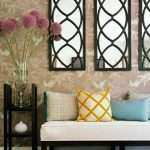 How To Decorate Living Room Wall Awesome Decorating With Mirrors Of How To Decorate Living Room Wall