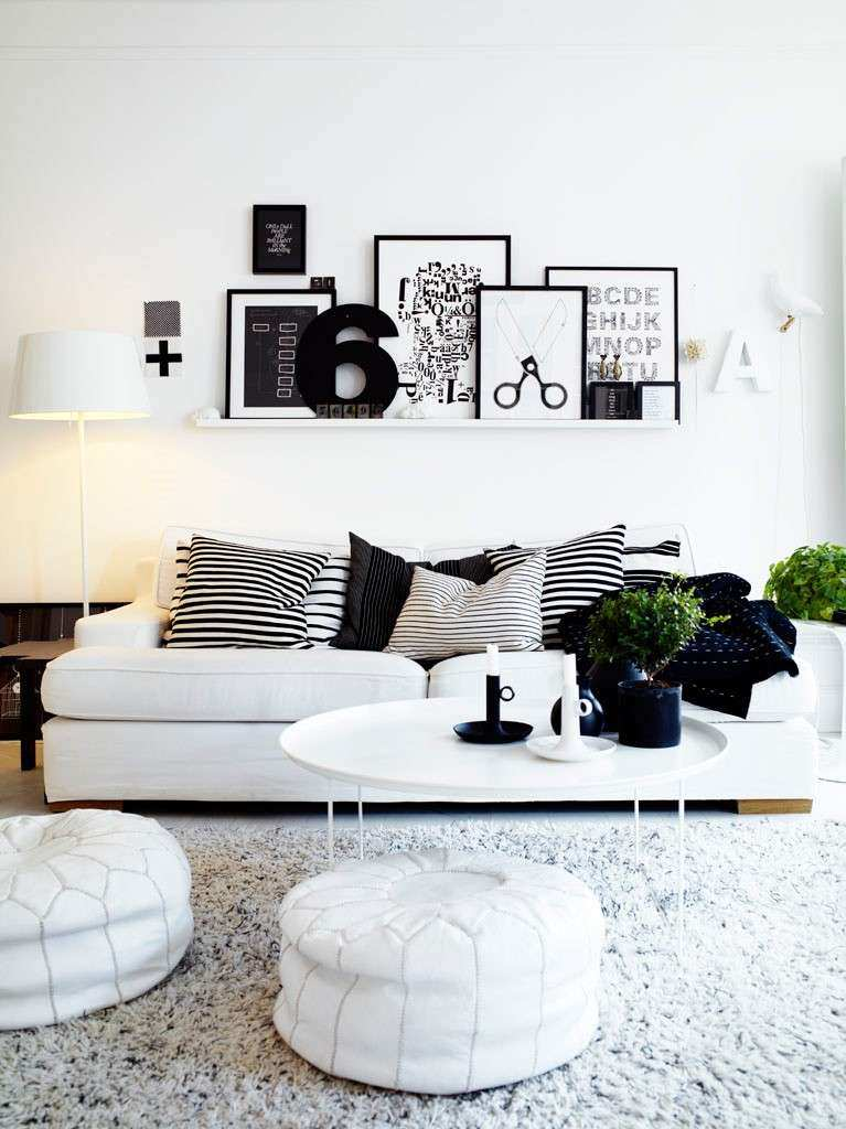 How to Decorate White Walls In Living Room Fresh Decordots Scandinavian Interiors