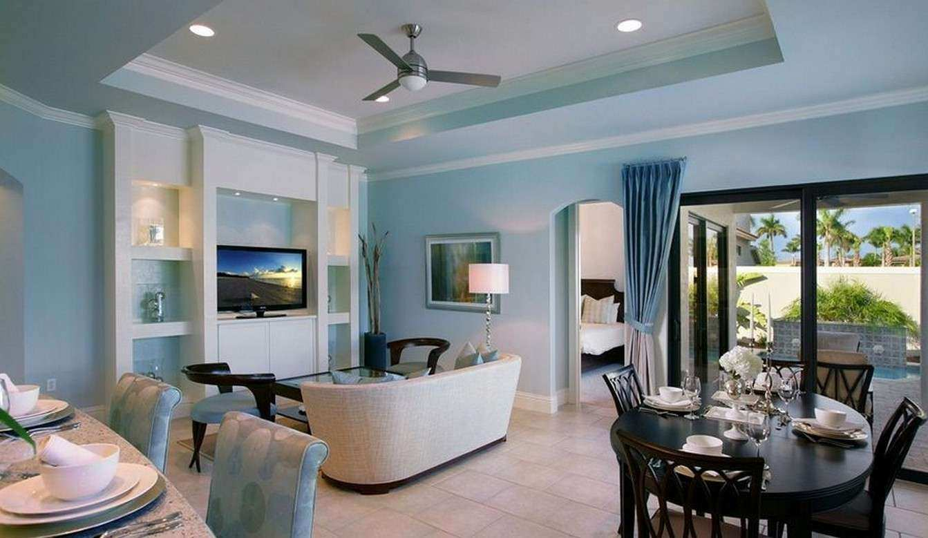 How to Decorate White Walls In Living Room Luxury Blue Living Room ...