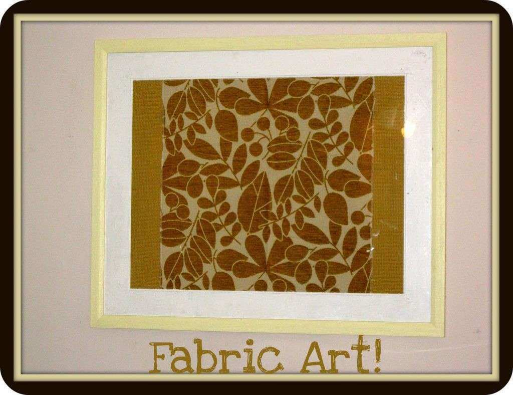 How to Frame Fabric for Wall Art Awesome Frame Fabric Wall Art