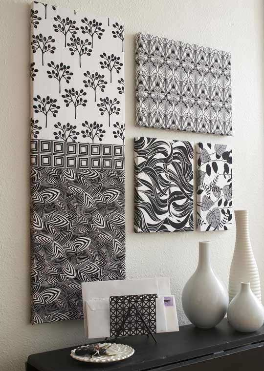 How to Frame Fabric for Wall Art Fresh Fabric Wall Art